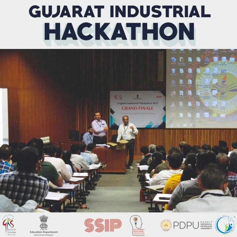 SSASIT Teams at Gujarat Industrial Hackathon 2019 | SSASIT
